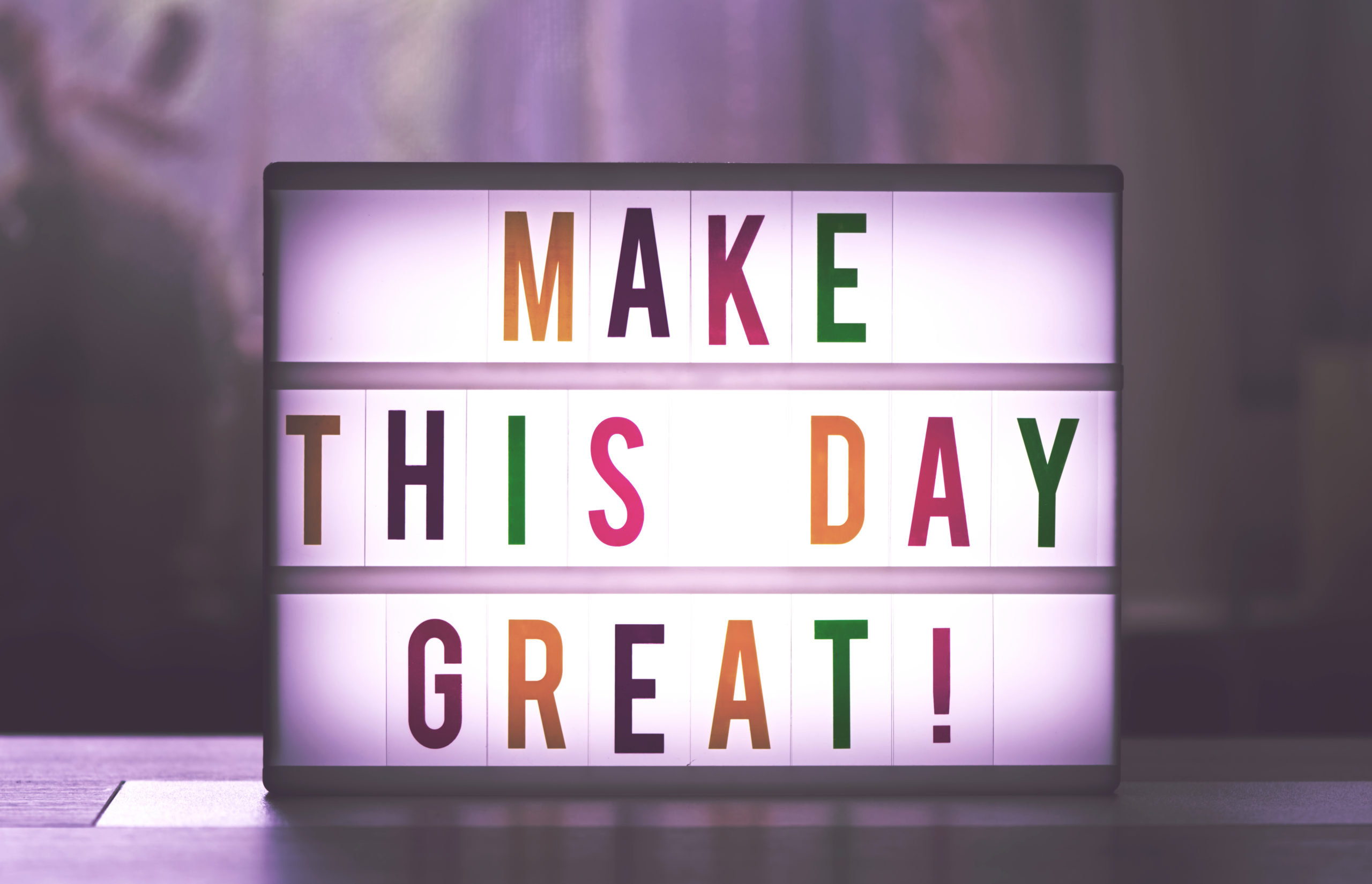 make this day great lightbox