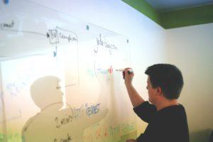 online tutor using white board